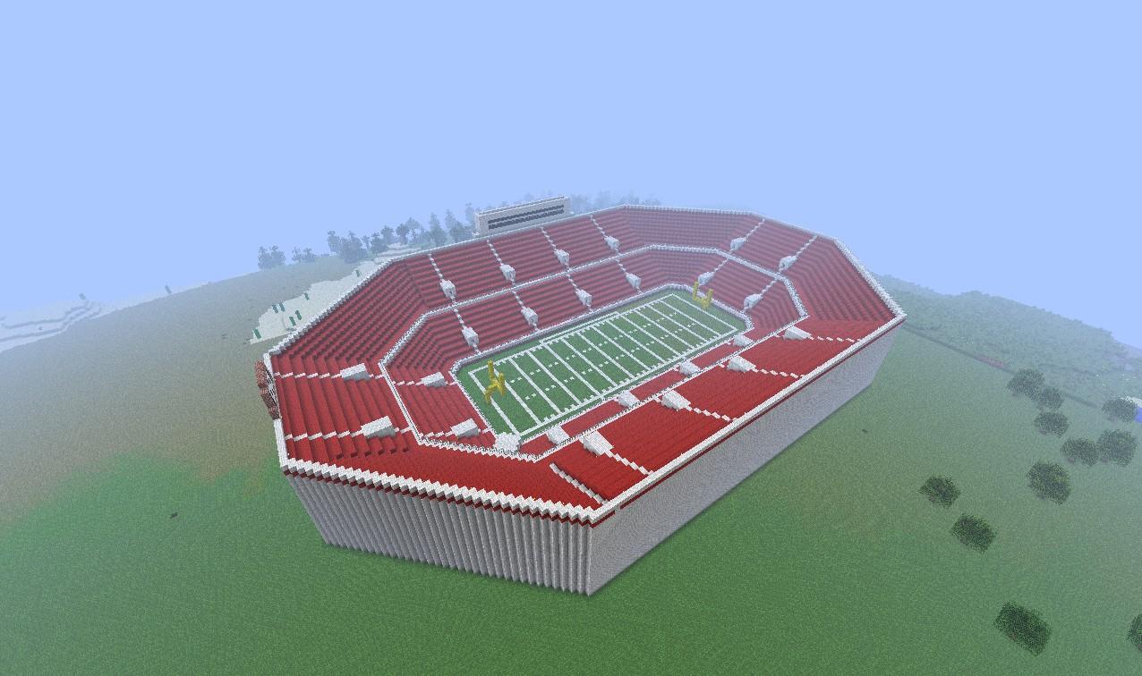The full stadium