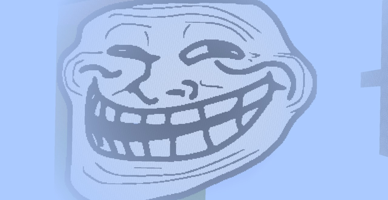 The most hd trollface ever seen 300x300 minecraft project the most hd trollface ever seen 300x300 voltagebd Gallery