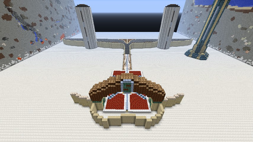 Front top view of Sky Castle