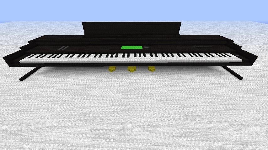 Yamaha Clavinova Keyboard Piano Minecraft Map