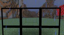 Clear See-Through Glass Minecraft Texture Pack