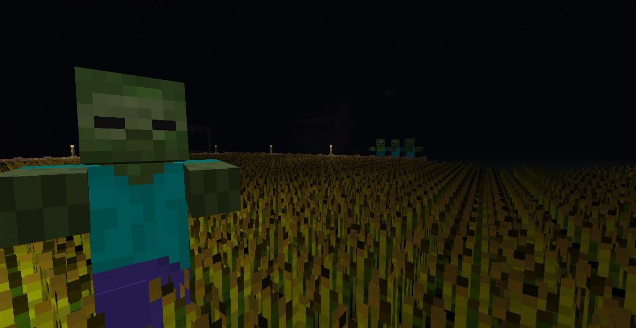 Farming Zombie Apocalypse map Minecraft Project