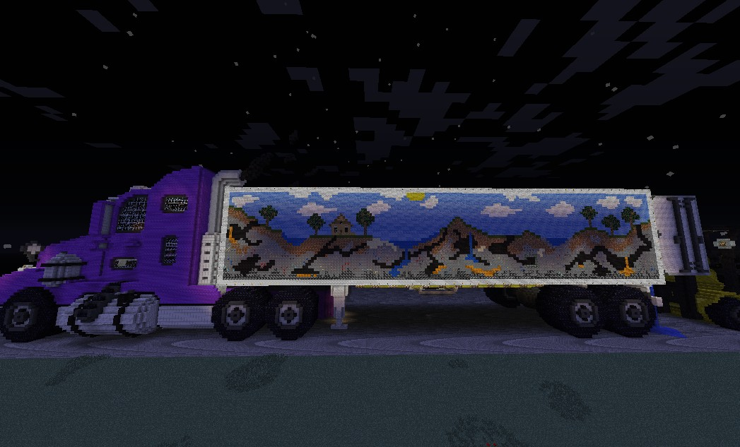механический грузовик в майнкрафте #5