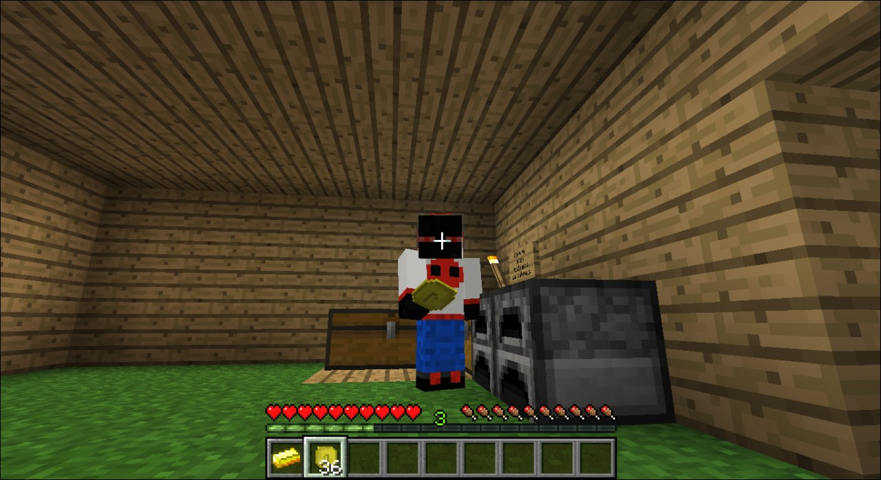 how to find gold nuggets in minecraft