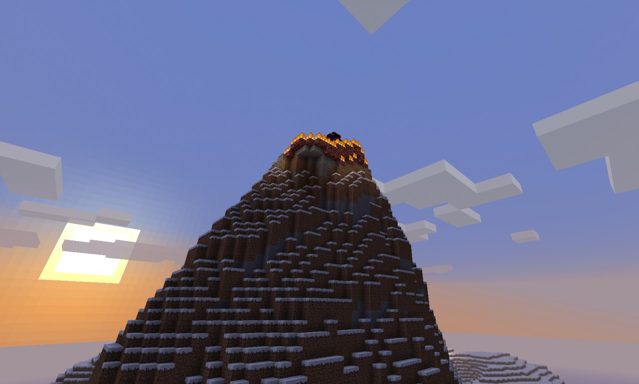 Nether Portal Mountain