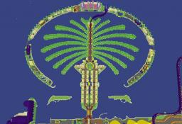 Palm Jumeirah Minecraft