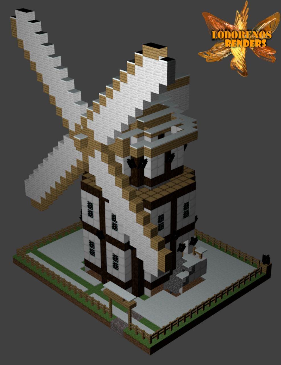 My Little Windmill Minecraft Project