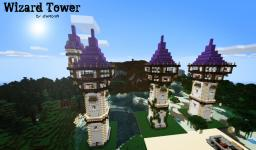 Wizard Tower Minecraft Map & Project