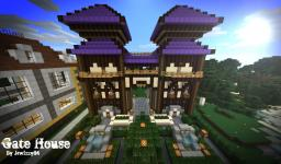 Gate House Minecraft Map & Project