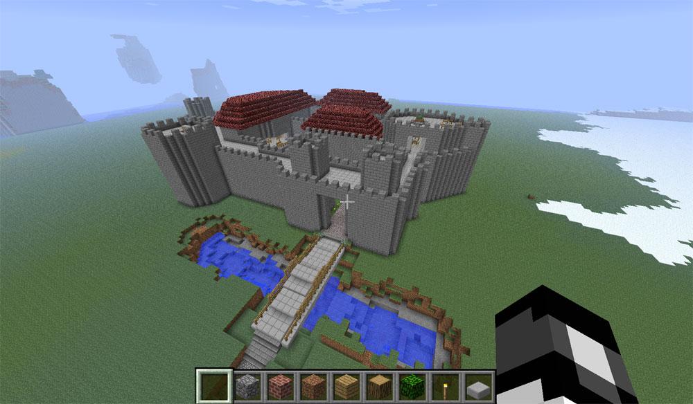 GIANT FLOOR HOLE TRAP! (IT WORKED!) - Minecraft Trolling ...