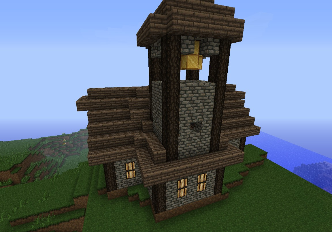 . Medieval Church Minecraft Project