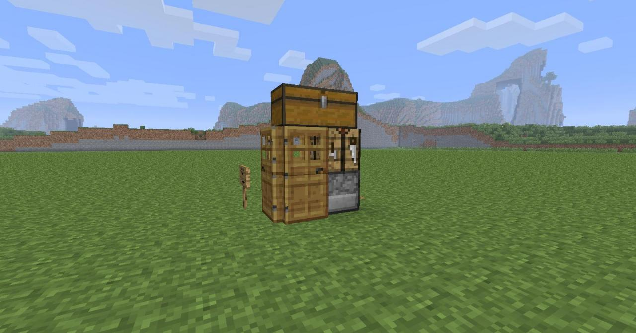 super small house minecraft project