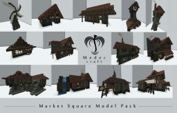 Medieval Stores Model Pack Minecraft Map & Project