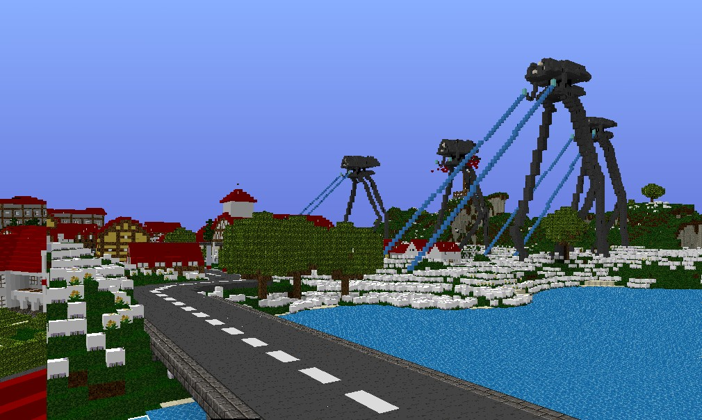 mcedit schematics html with War Of The Worlds Tripods Attacking Plattenberg Tripod Schematics on Bi Level House Furnished additionally Survival Starter House My First Project Hope You Like further Bolvark17s Medieval Buildng Bundle Mcedit Schematic further Island For Skyblock 189 also Realistic Partial Cloverleaf Interchange Republic Of Union Islands.