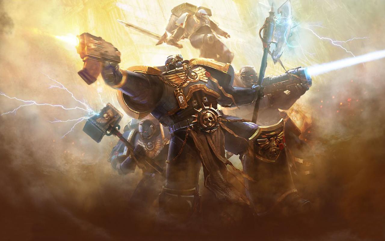 Warhammer 40k Space Marines: WarHammer 40k Wallpapers Minecraft Blog