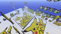 Pikachu gallery! over 100 pikachus! Minecraft Map & Project