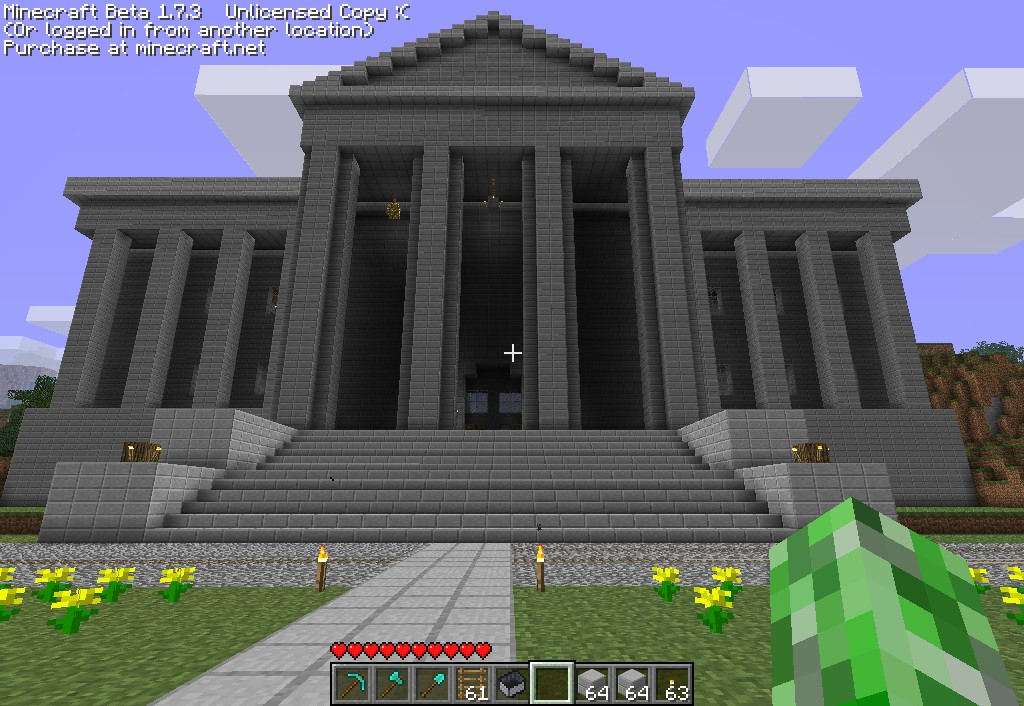 Big house minecraft project for Project house