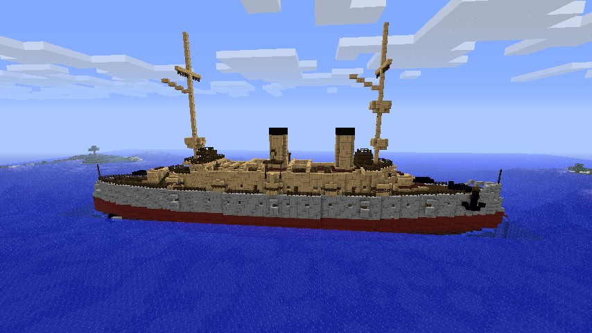 Sick of wood and stone ships? Build steel ones!