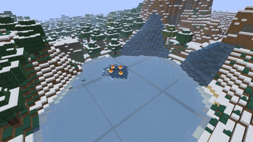 Surv hatchet survival minecraft project for L shaped lake