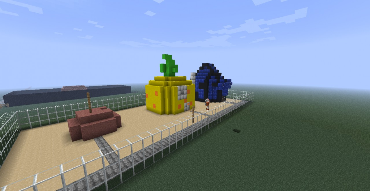 Spongebob Pack  Built By Eclipse Eye   Webj444  U0026 Blazereye Minecraft Project