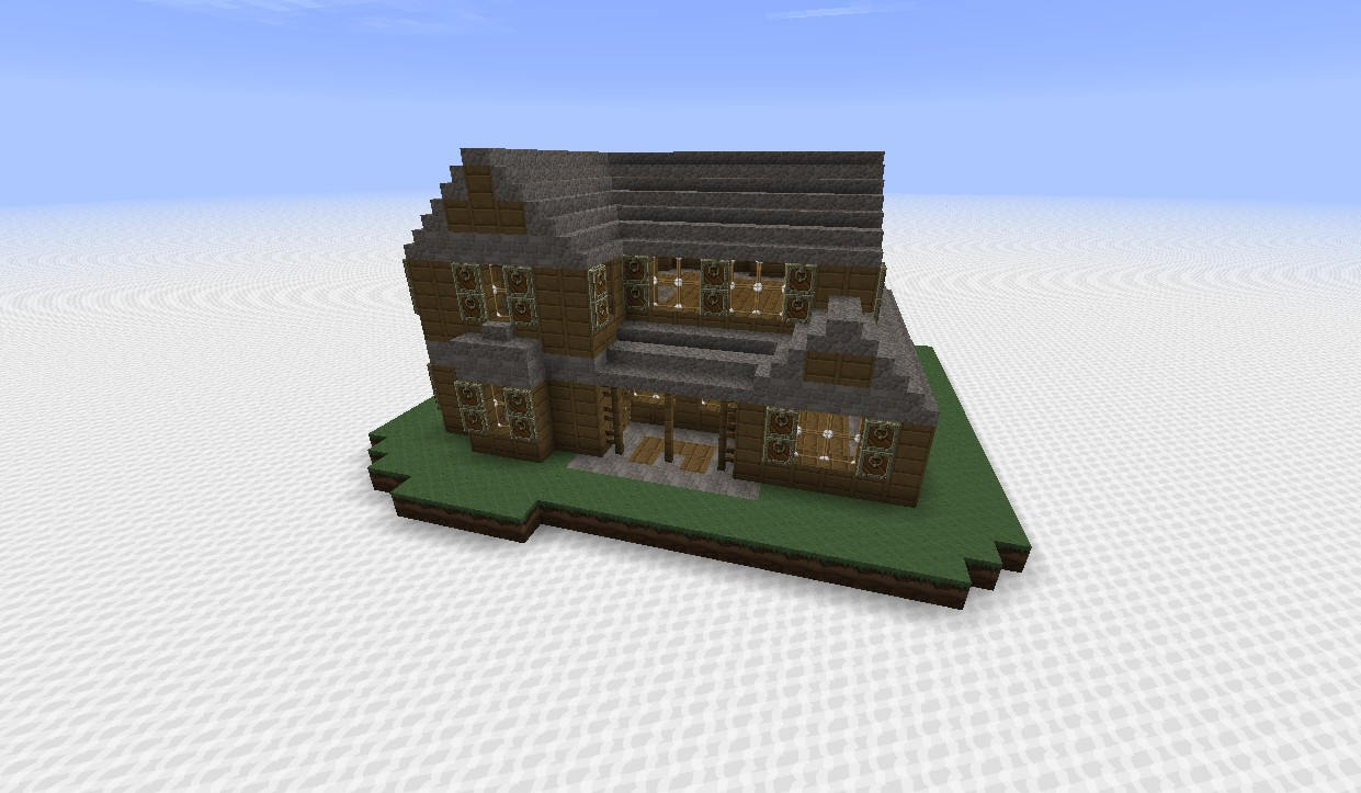 Realistic House Model Minecraft Project