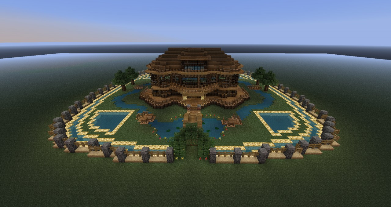 Awesome Mansion Download Schematic Minecraft Project