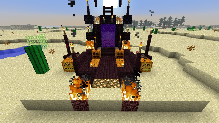 Nether Portal Decorative Minecraft Project