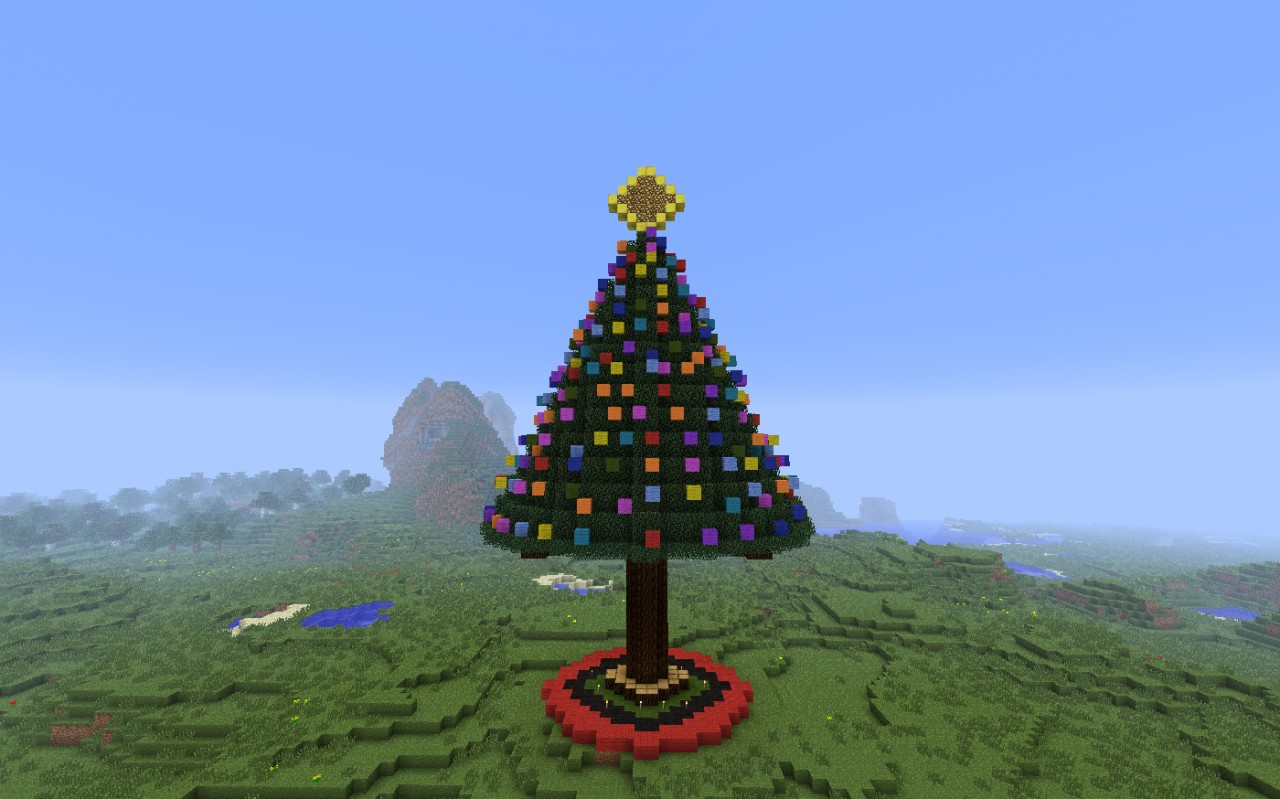 how to build a palm tree in minecraft