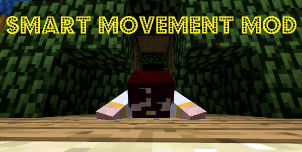 скачать мод на майнкрафт 1.7.10 smart moving mod #4