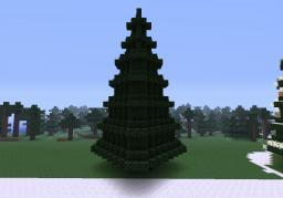 Christmas Tree No decorations Minecraft Map & Project