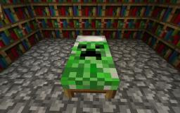 Creeper Bed! Minecraft Texture Pack