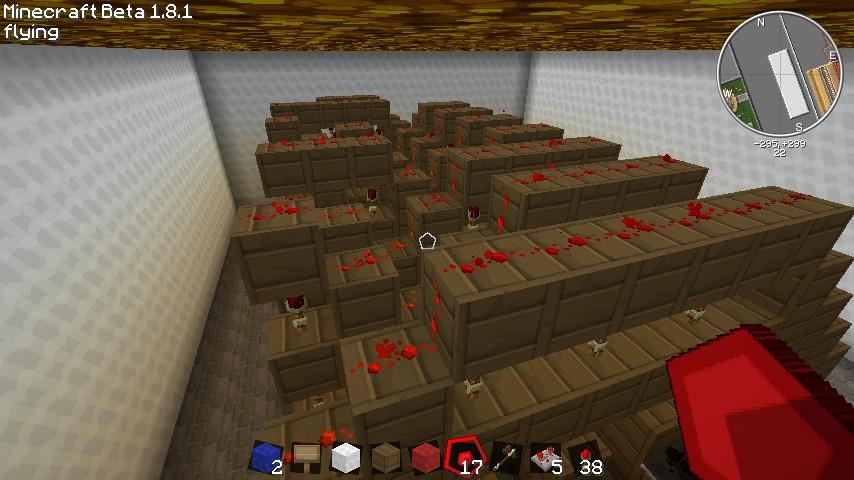 2 bit multiplier minecraft project