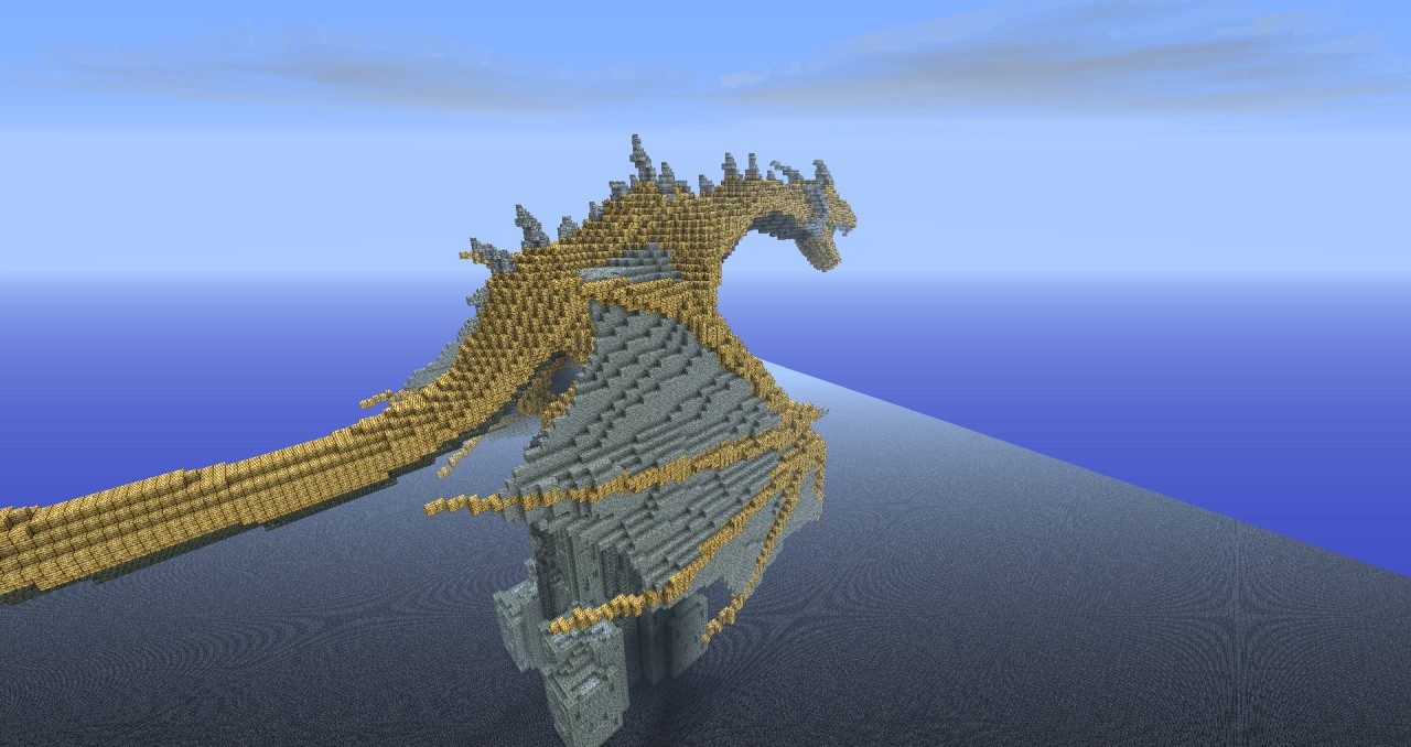 How To Build A Legendary Dragon In Minecraft