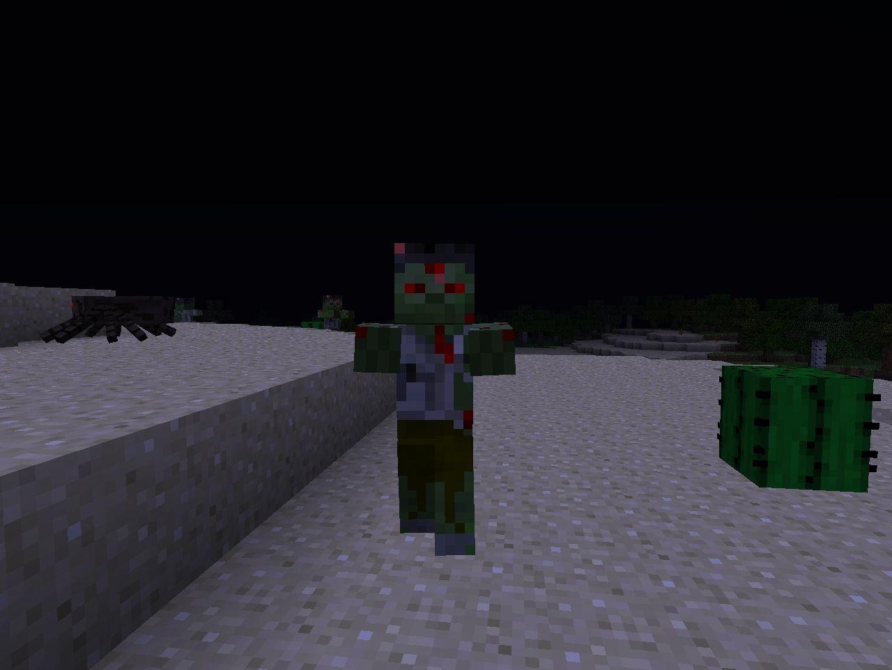Skin edits (Mobs) Minecraft Texture Pack