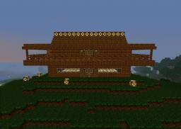 Finaly i Got Creative Enuf to Make a Nice House Minecraft Map & Project
