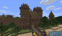 Medieval Pack 6 - Gate with towers Minecraft Project