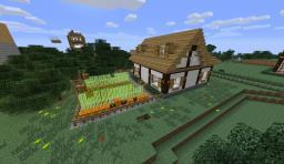 Rural house 4 Minecraft