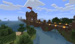 Medieval Pack 9 - bridge with towers Minecraft Project
