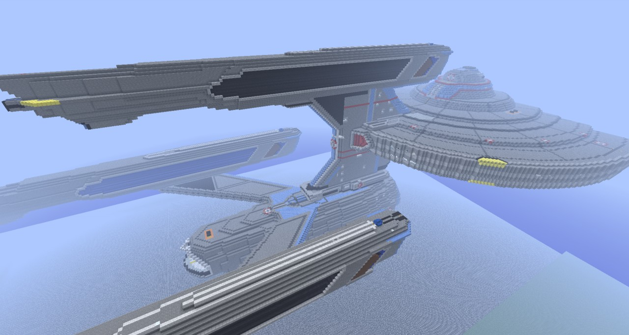 Star trek uss federation wip minecraft project for Star trek online crafting leveling guide
