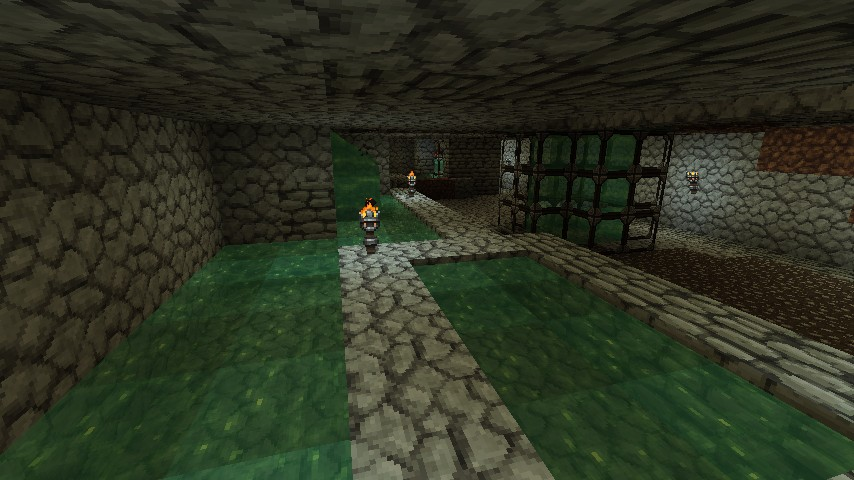 Creeper collection pool