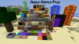 Jdogs Simple Pack Minecraft Texture Pack