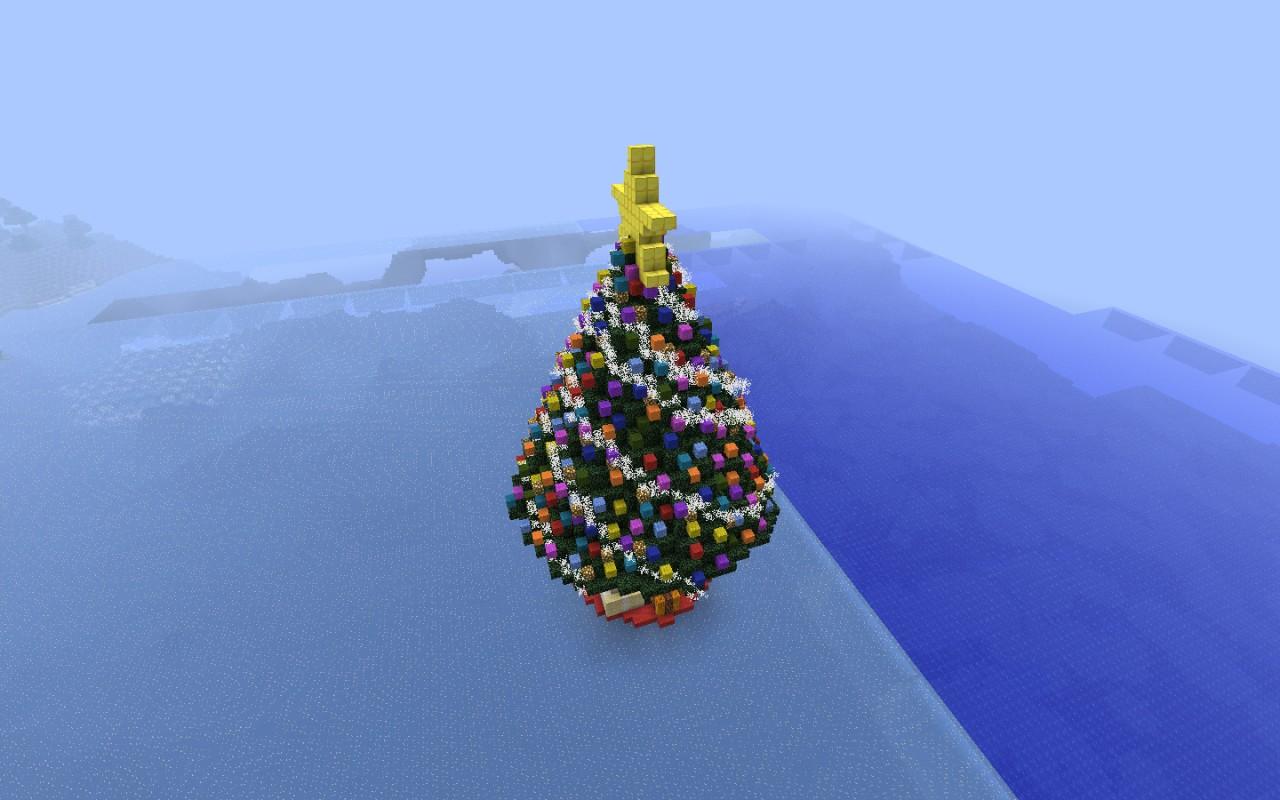 Christmas Tree! Minecraft Project