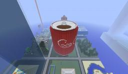 Giant Coca Cola Can Minecraft Map & Project
