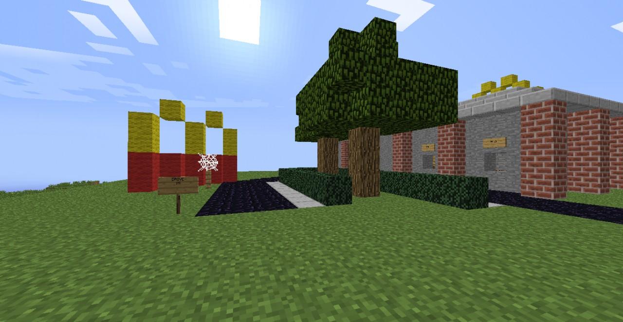 McDonalds Minecraft Pr...