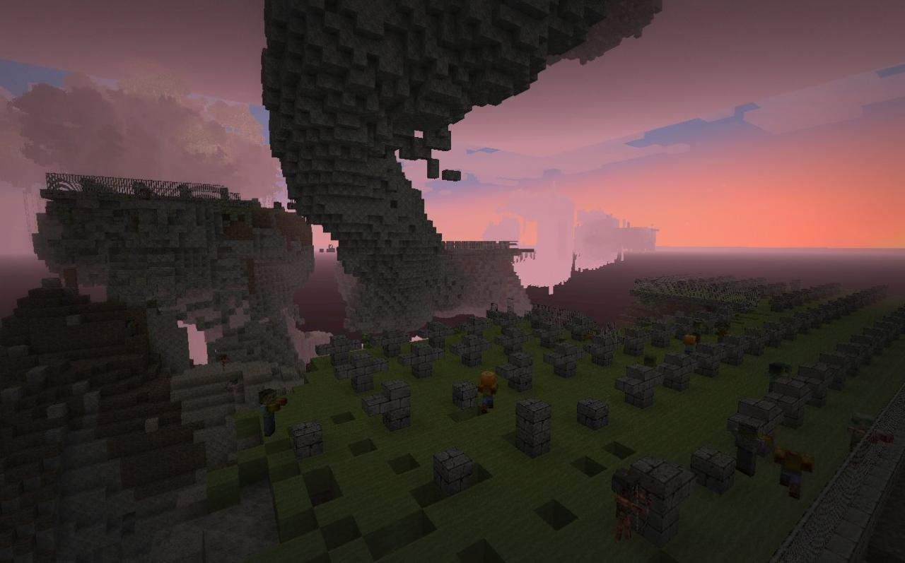 AREA:  Gravitation-ally Challenged Graveyard