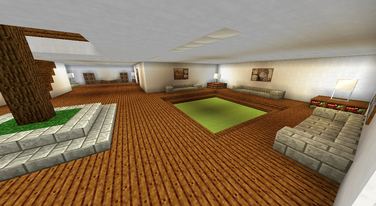 Großes modernes haus minecraft project
