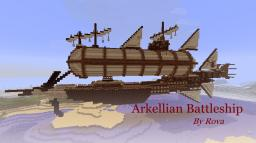 Arkellian Battleship Minecraft Map & Project