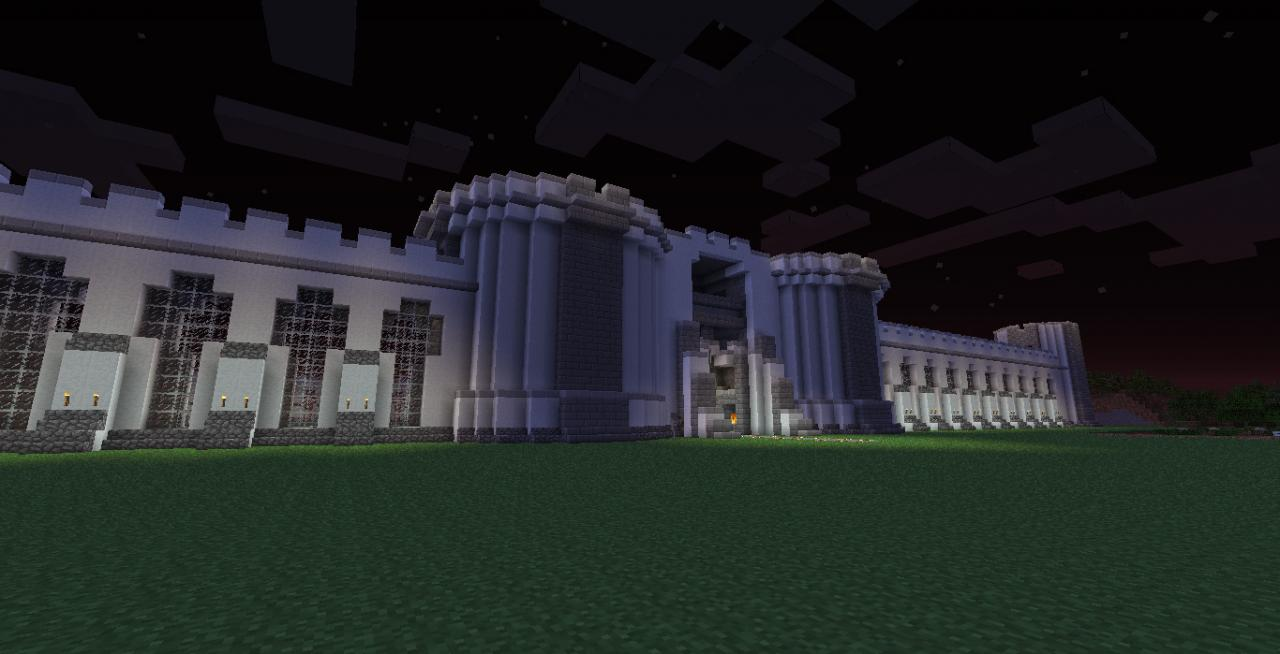Castle Tho Snow White Walls Minecraft Map