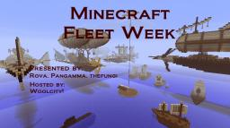Minecraft Fleet Week! Minecraft Blog Post