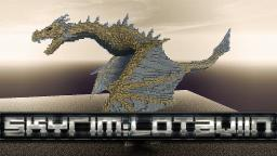 Lotaviin - Dragon from Skyrim in Minecraft Minecraft Project